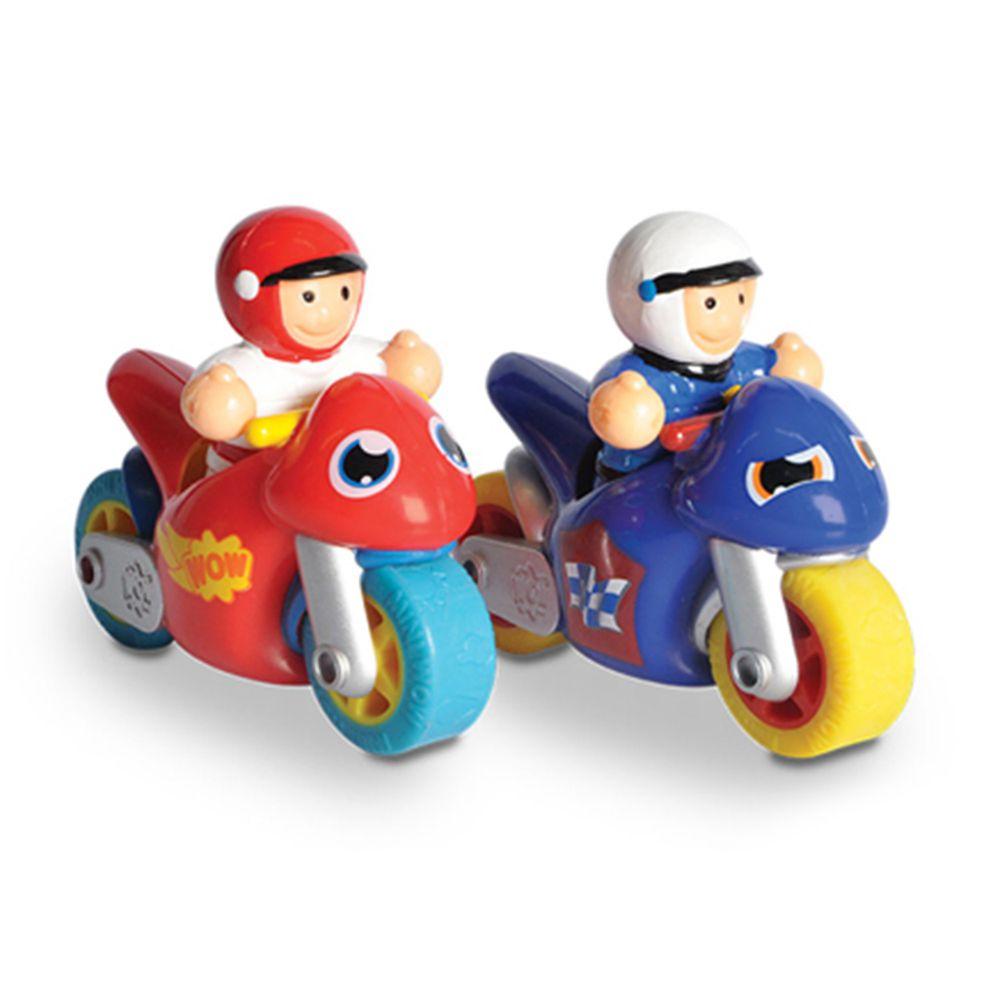 英國驚奇玩具 WOW Toys - 【新品】小玩偶 - 飆風好朋友