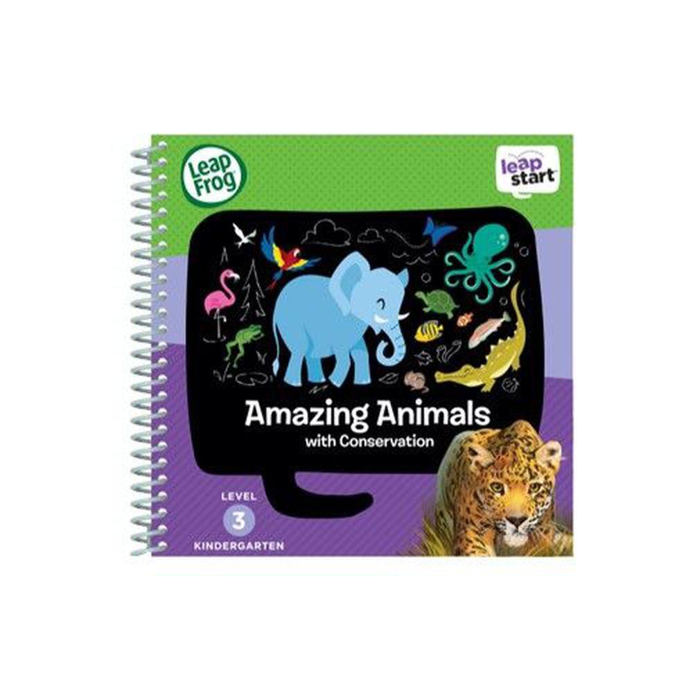 LeapFrog美國跳跳蛙 - LeapStart Sr. Books: 兒童3- 世界動物真奇妙