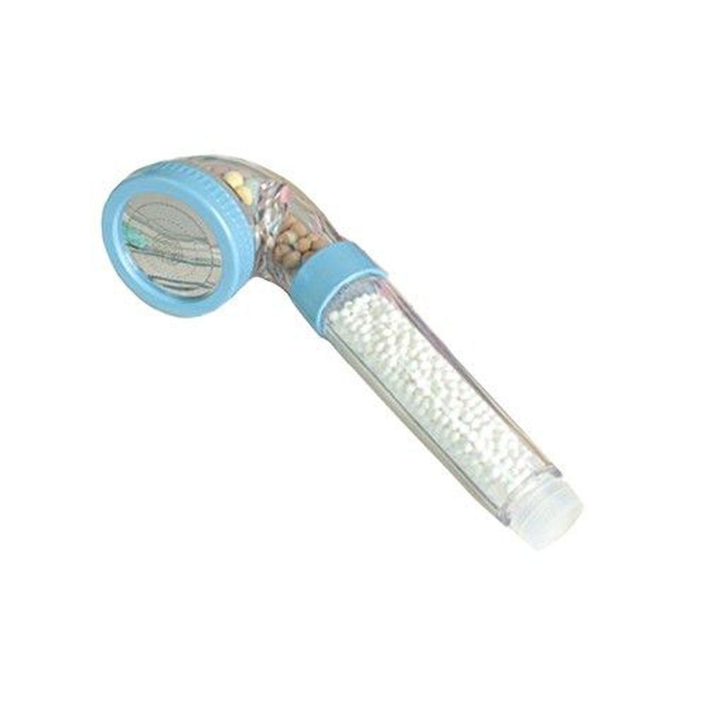 潔霖安健 - 嬰幼兒健康沐浴器-粉藍-沐浴器(蓮蓬頭)x1支