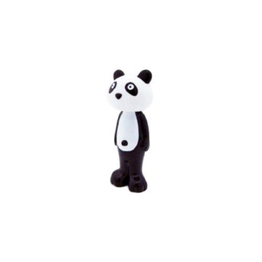 日本 U-COMPANY - Bounce up 彈跳牙刷-熊貓-黑白