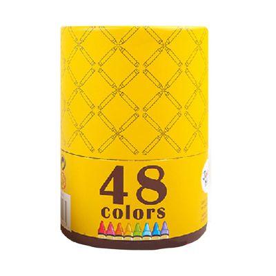 【新品】可水洗蠟筆-48色