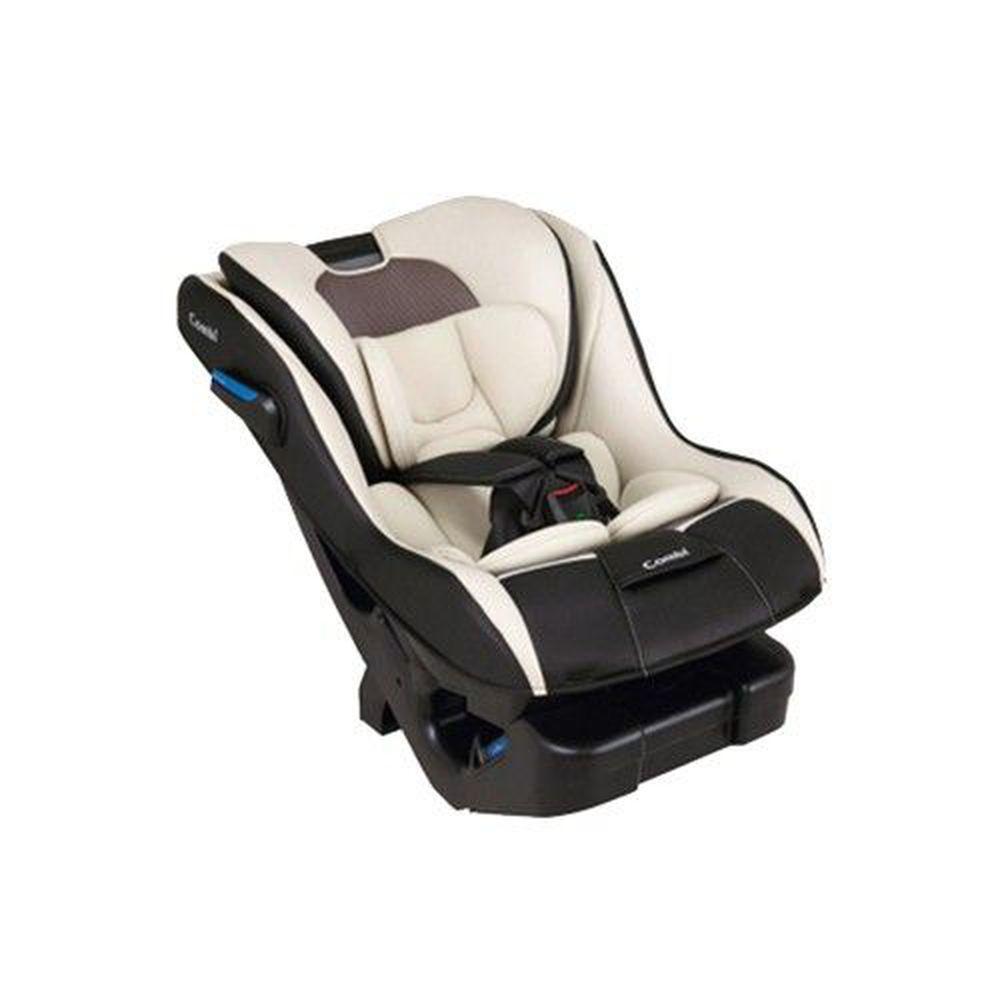 日本 Combi - New Prim Long S 汽車安全座椅-哥德灰-新生兒0歲起~7歲(25kg以下)