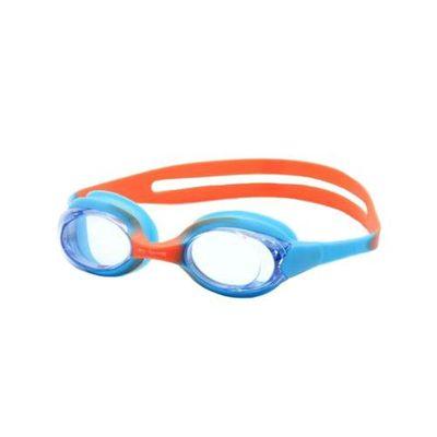 兒童泳鏡-藍橘色 (2-5歲 [42~50cm])