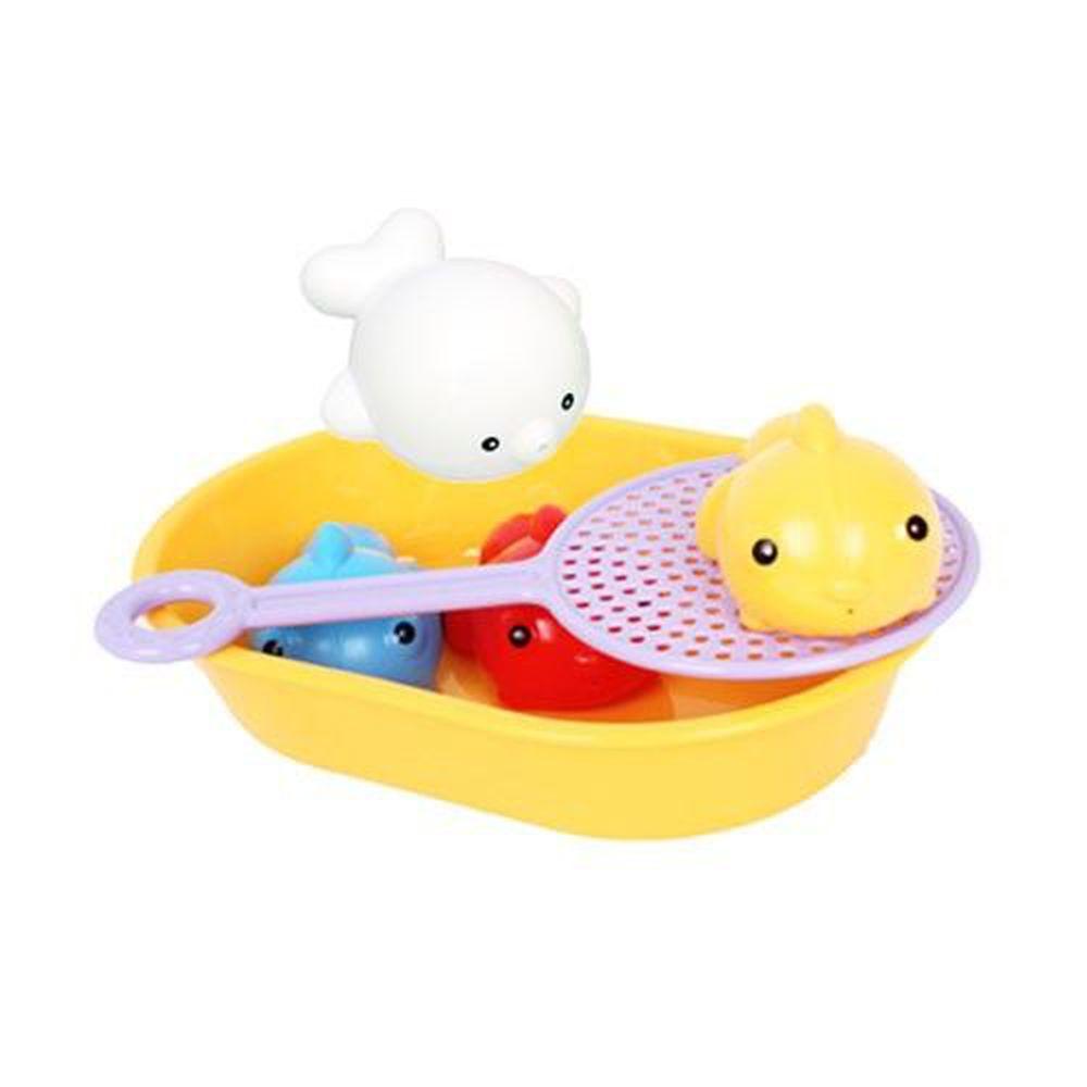 日本 Toyroyal 樂雅 - 洗澡玩具-撈撈樂-1.5歲以上