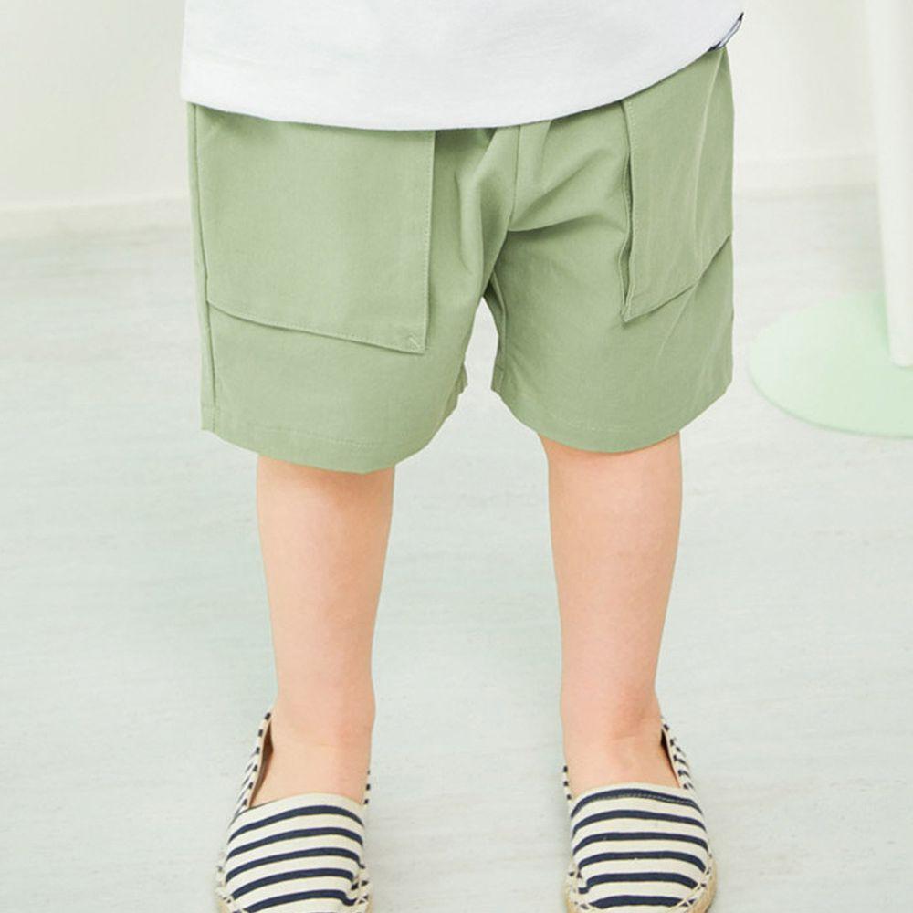 韓國 Jelispoon - 大口袋西裝短褲