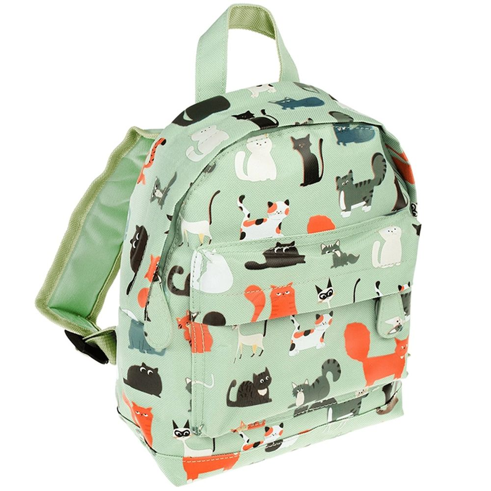 英國 Rex London - 幼兒/兒童後背包-萌貓樂園