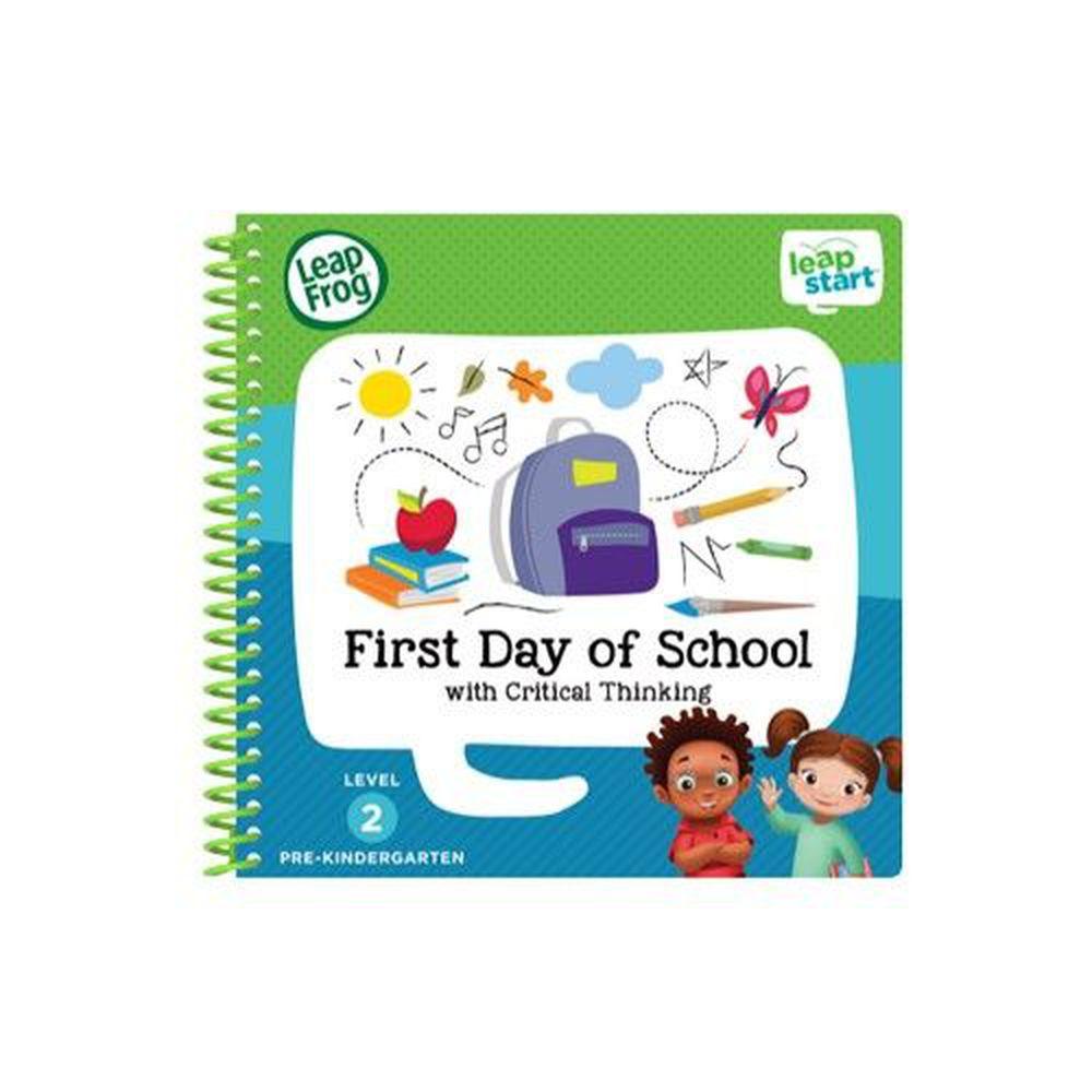 LeapFrog美國跳跳蛙 - LeapStart Jr. Books: 幼兒8-上學趣