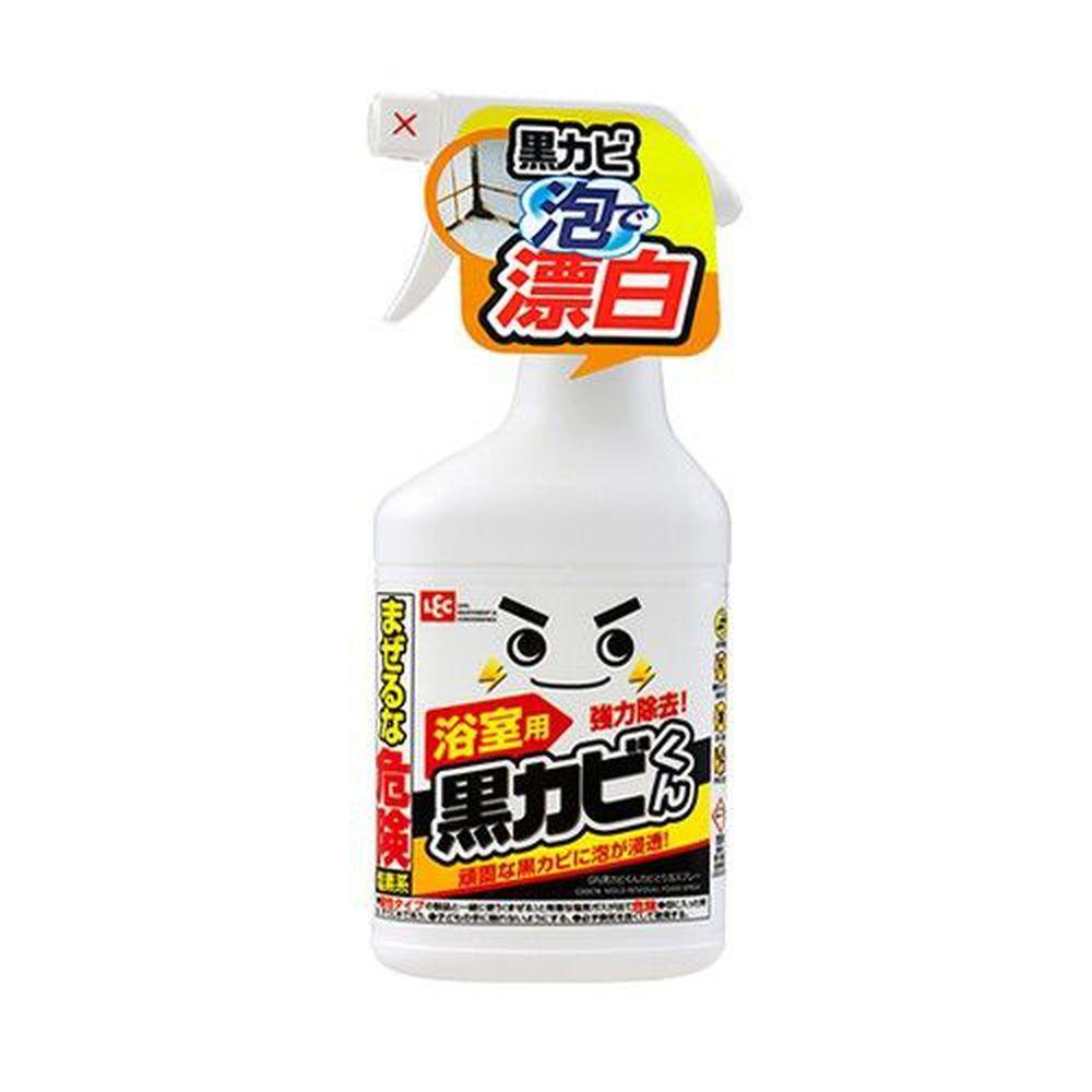 日本 LEC - 黑霉君強力除霉泡泡噴劑-400ml x 1瓶