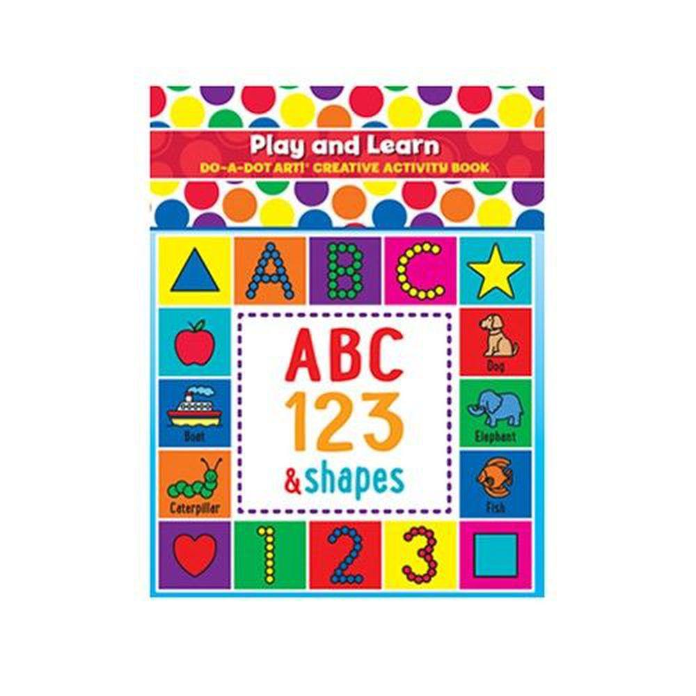 美國 Do A Dot Art - 點點畫冊-快樂英文ABC-27頁