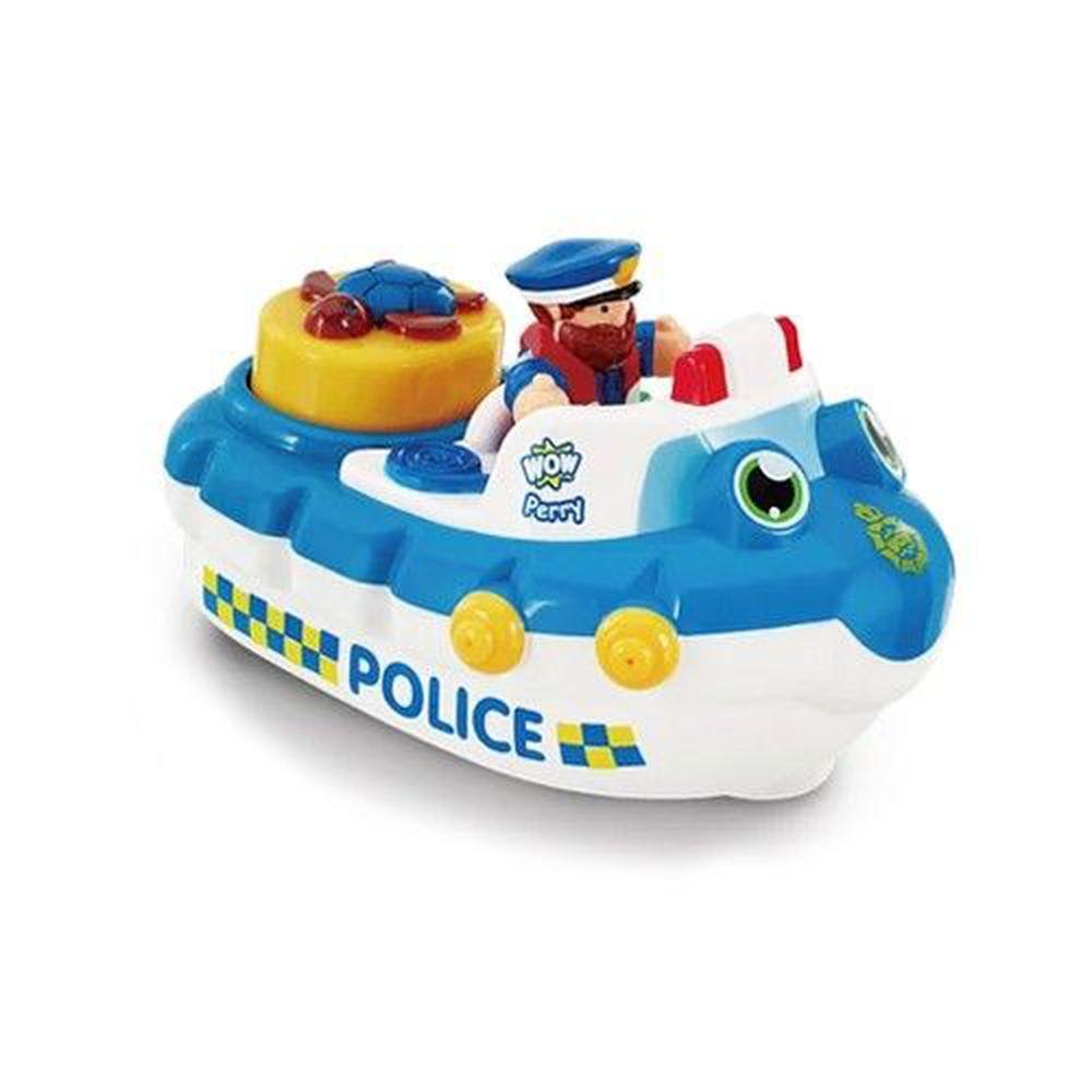 英國驚奇玩具 WOW Toys - 海上巡邏警艇 派瑞
