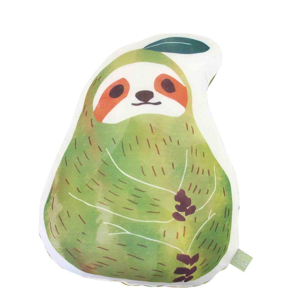 日本 DAIKAI - 接觸涼感造型抱枕-西洋梨樹懶 (25x29cm)