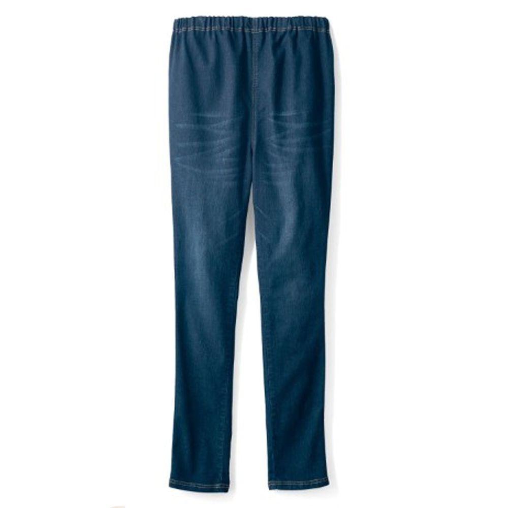 日本千趣會 - 孕產婦彈性牛仔褲-深藍