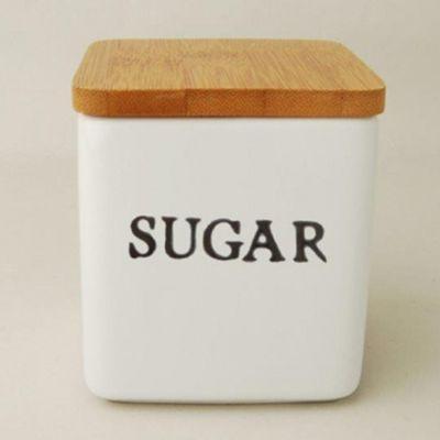法式簡約風小罐子-糖-8.5x8.5x10cm