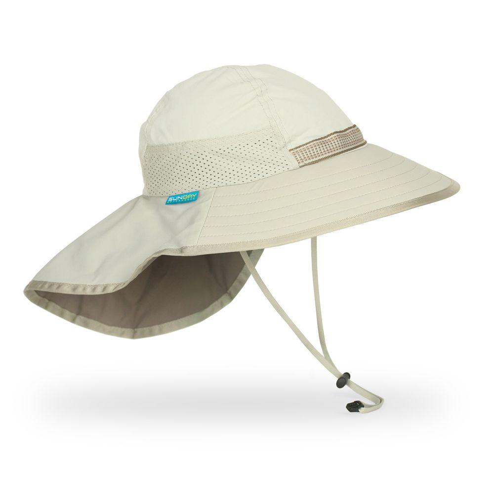 Sunday Afternoons - 兒童防曬帽-兒童抗UV防潑透氣護頸帽Kids Play Hat-奶油 Cream