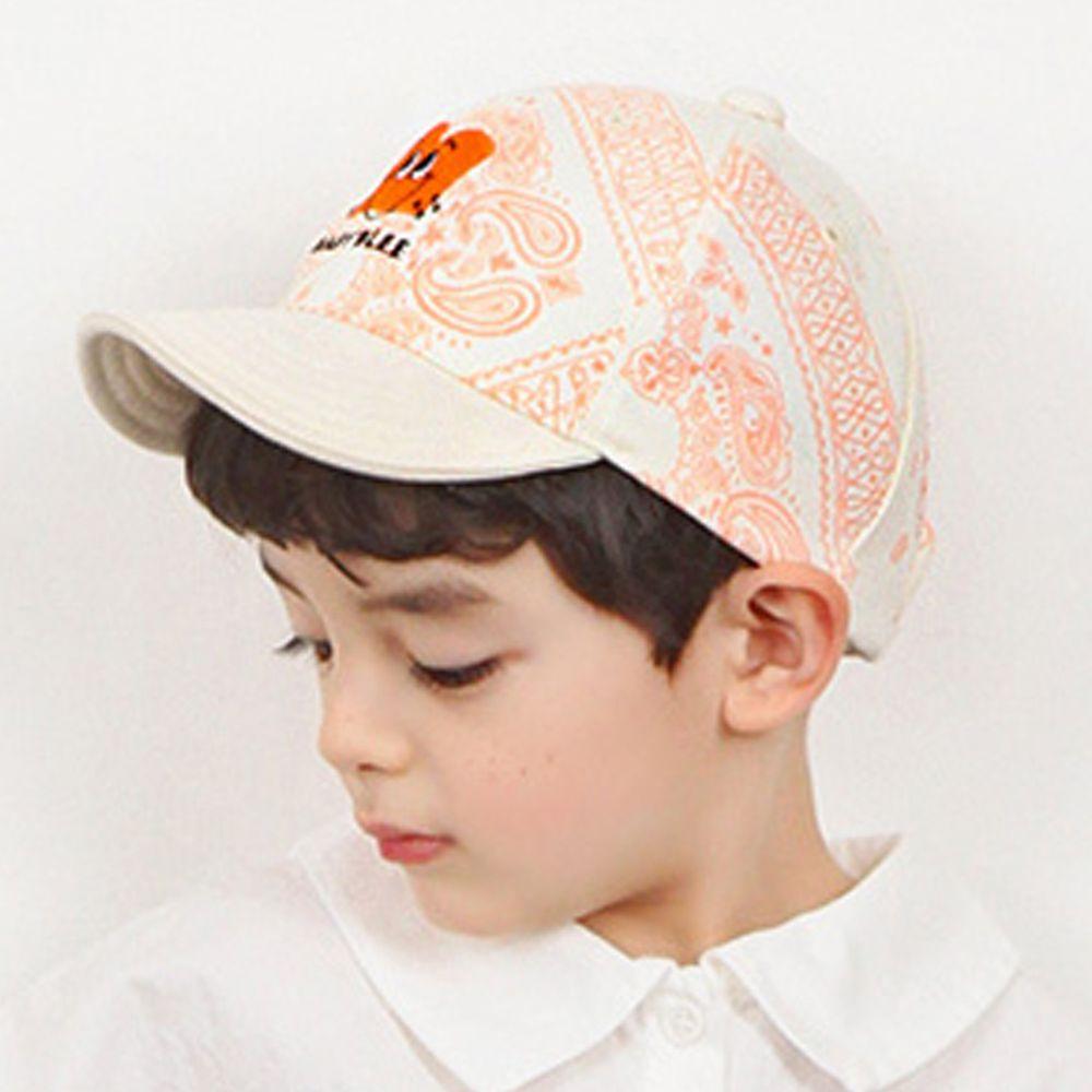 韓國 Babyblee - 花紋派對棒球帽