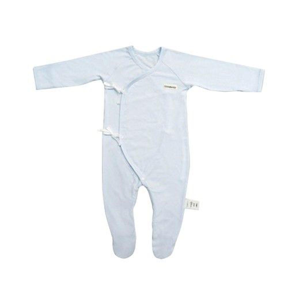 Edenswear 伊登詩 - 鋅健康抗敏系列-嬰兒包手腳兔裝-淺藍