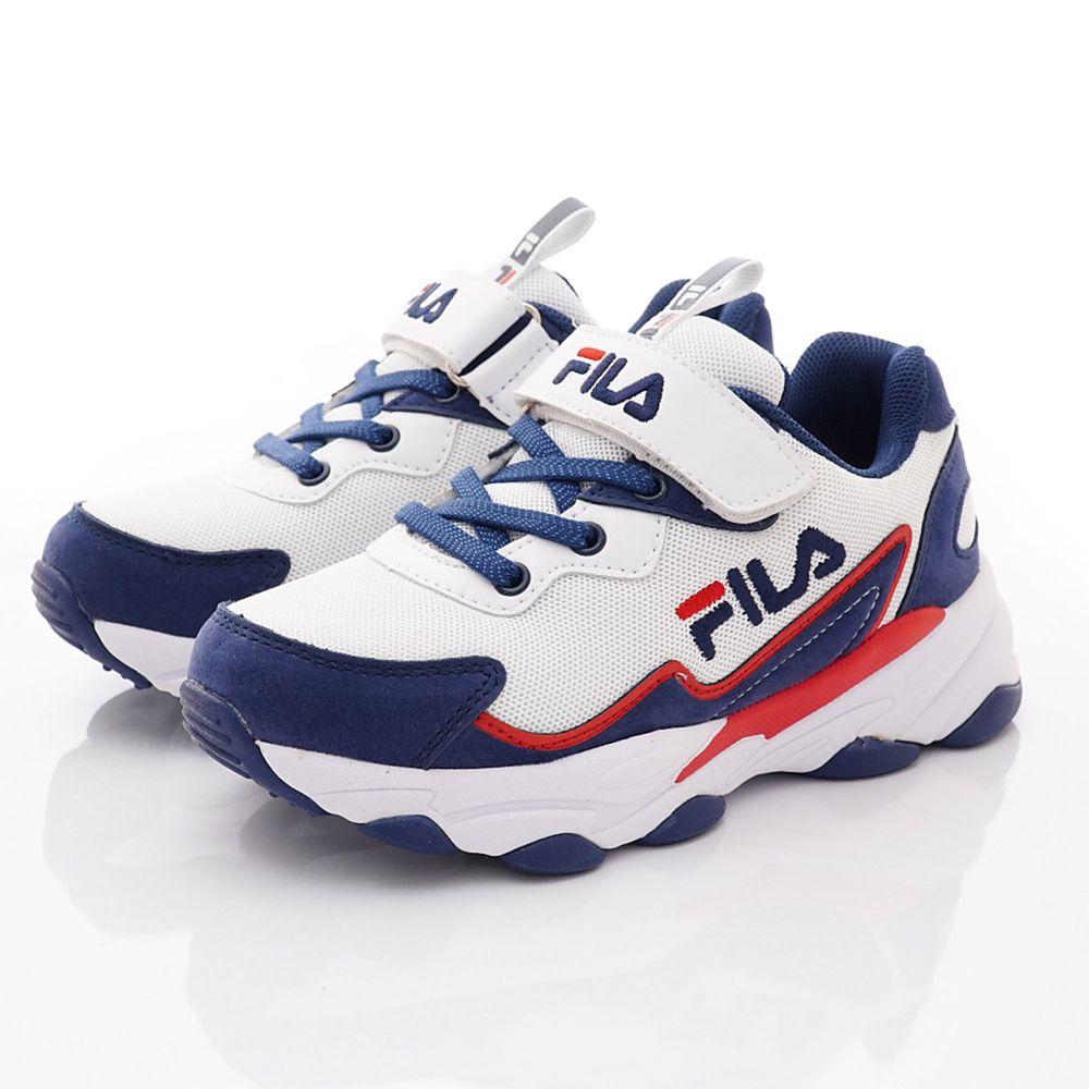 FILA - 義式老爹運動鞋款(中大童段)-藍白紅