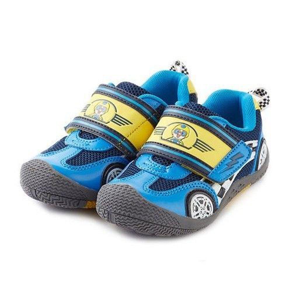 Dr. Apple 機能童鞋 - 賽車小子奔馳競速拉風童鞋-藍色 (20 CM)