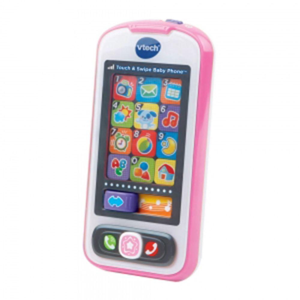 Vtech - 寶寶智慧型手機-粉色-6個月以上