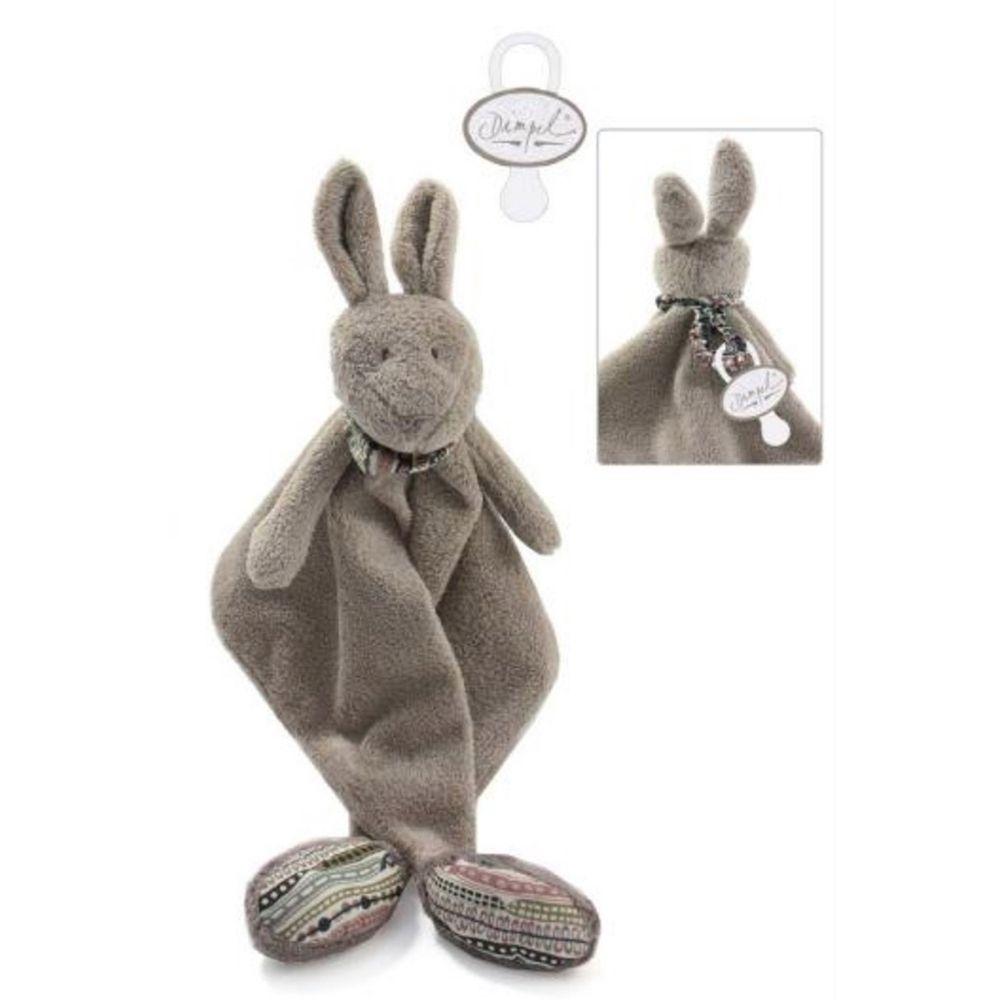 比利時 Dimpel - 澳洲系列-跳跳袋鼠 - 指偶系列 (附奶嘴鍊) (29cm)