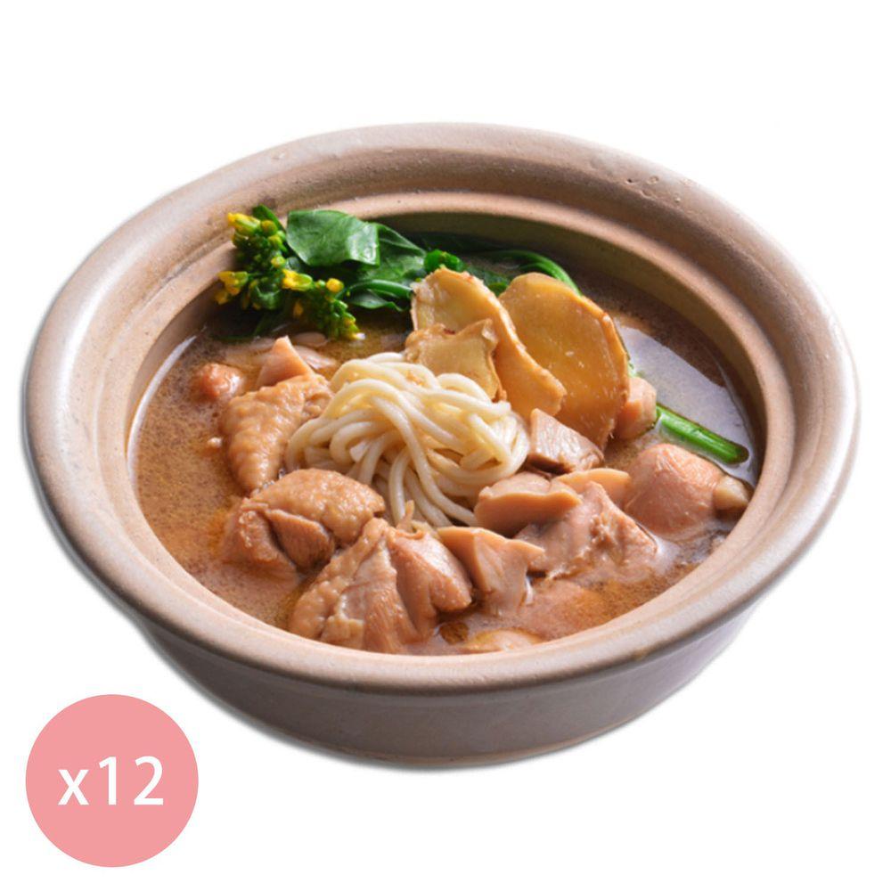 【國宴主廚温國智】 - 冷凍花雕雞麵700g x12包