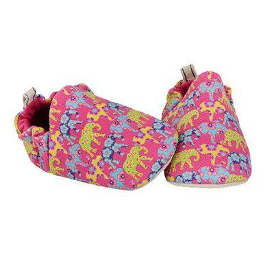 寶寶手工鞋-繽紛大象