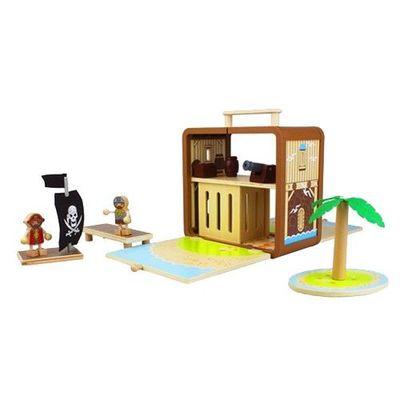 趣味木頭玩具箱-海盜屋(II)
