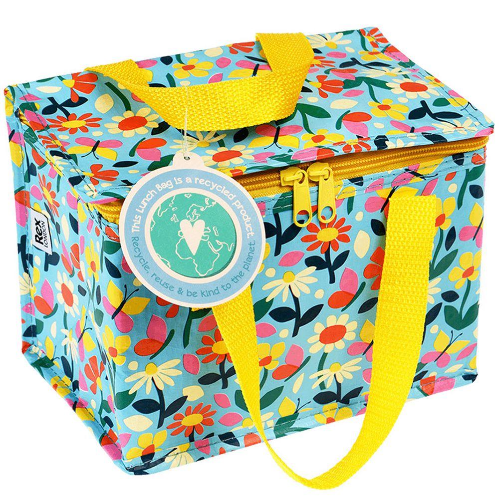 英國 Rex London - 環保保溫袋/保冷袋/便當袋/野餐-蝴蝶花園