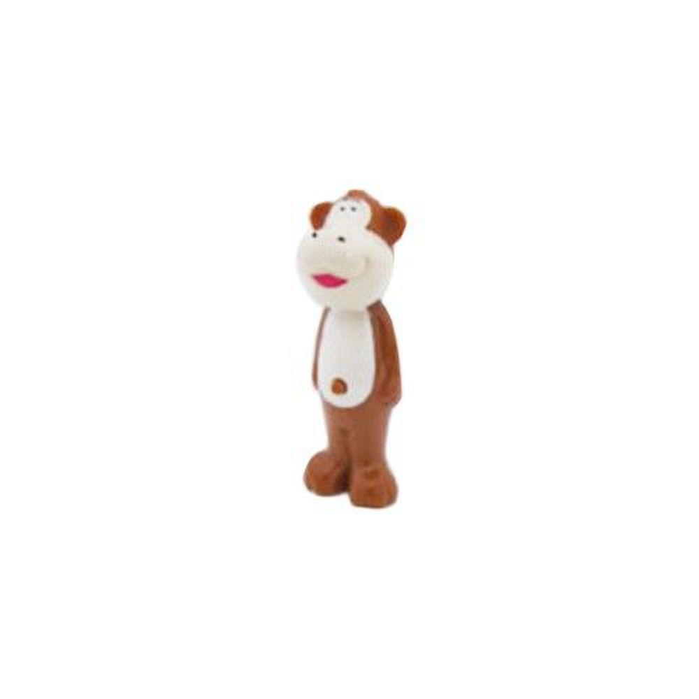日本 U-COMPANY - Bounce up 彈跳牙刷-猴子-咖啡