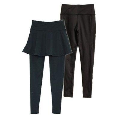 機能顯瘦褲+顯瘦裙(九分) 2件超值組