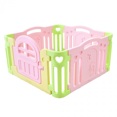 BaBy Room 遊戲圍欄-粉紅色