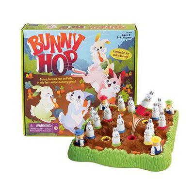 親子互動桌遊-彈跳兔兔