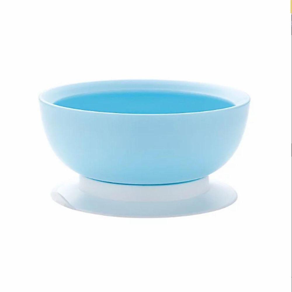 六甲村 Mammy Village - 可拆式止滑防漏餵食碗-寶貝藍