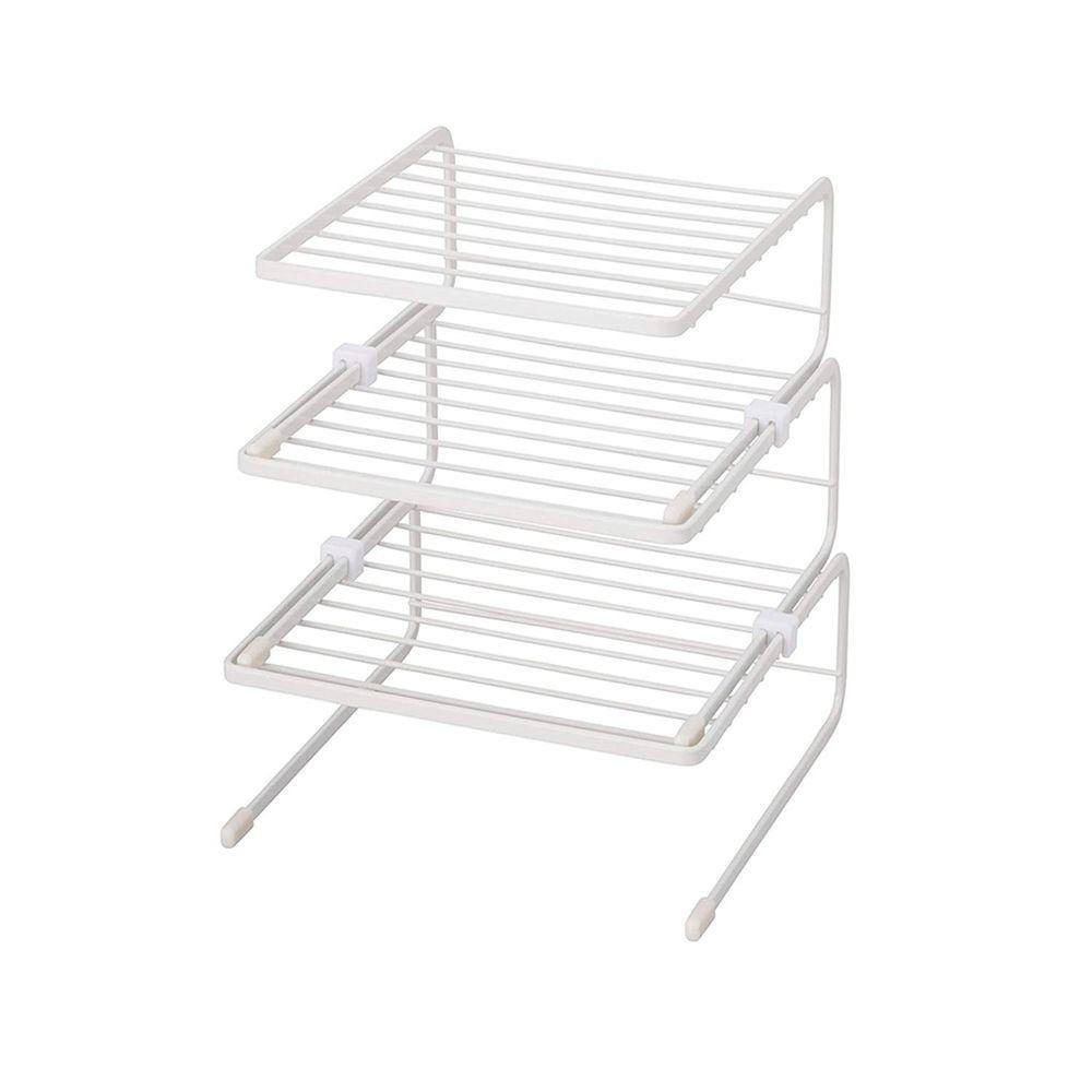 日本天馬 - 廚房系列多功能三層備料碗碟置物架