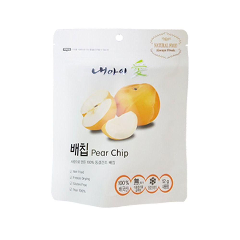 Naeiae - Naeiae韓國米餅果乾-梨子片-12g