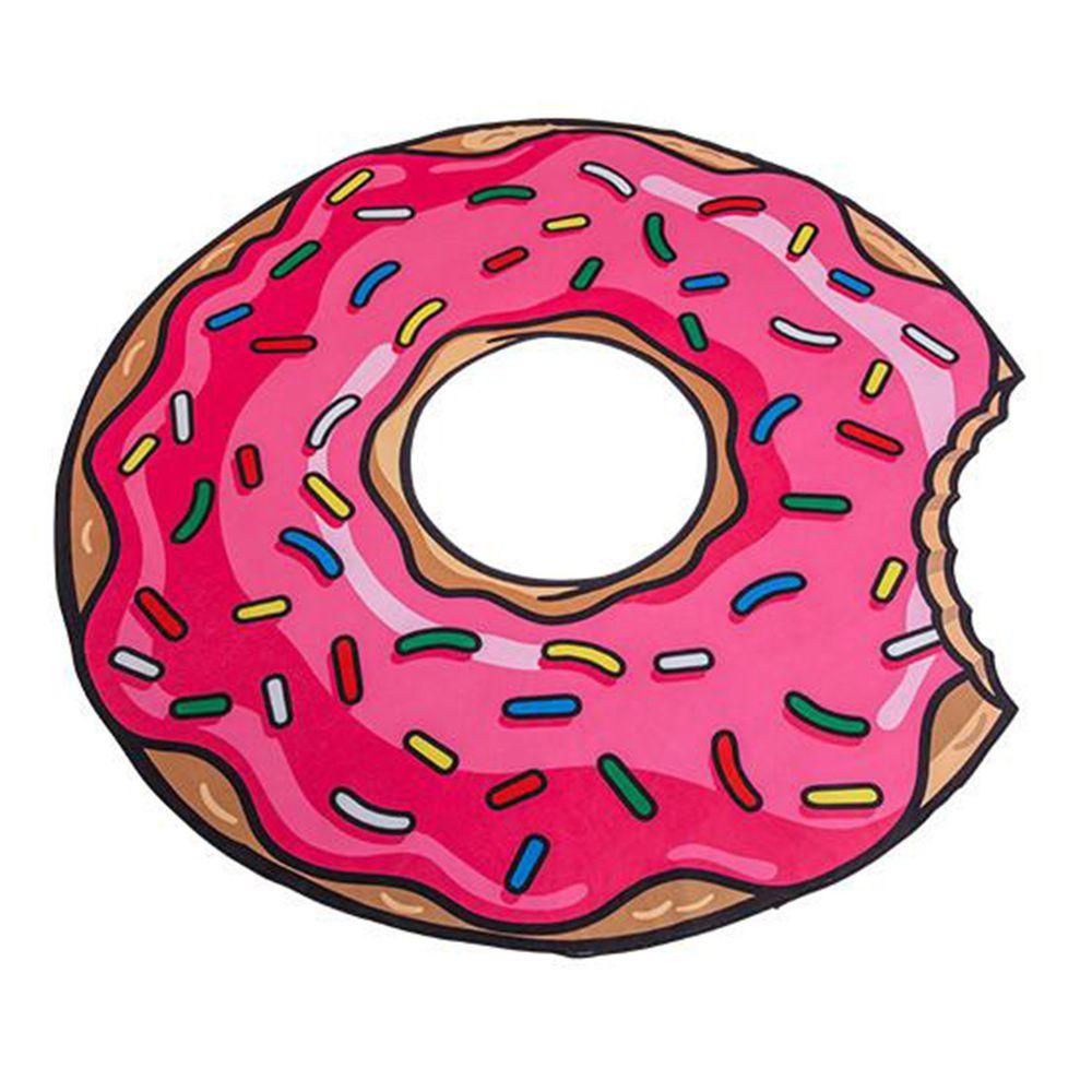 美國 Big Mouth - 造型海灘毯-甜甜圈款