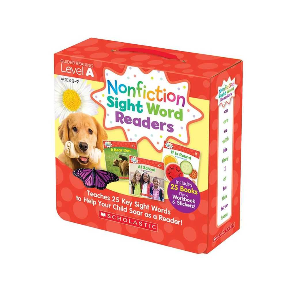 Nonfiction Sight Word Readers Level A with CD-教材+CD-彩色