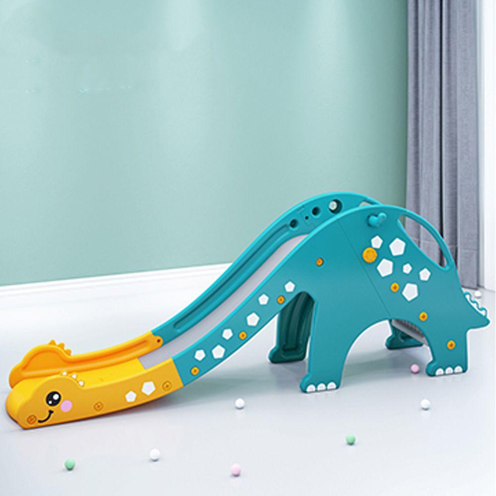 Phoebe - Phoebe兒童遊戲溜滑梯-恐龍款(附籃球框及籃球)