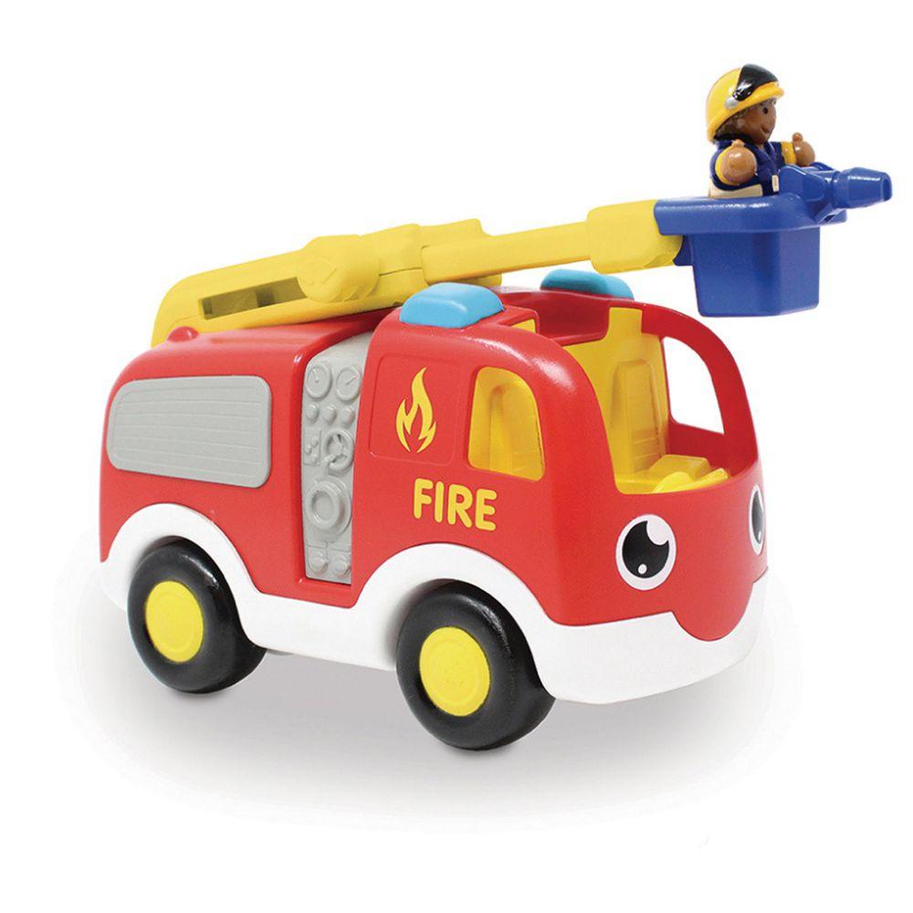英國驚奇玩具 WOW Toys - 雲梯消防車 恩尼(新版)