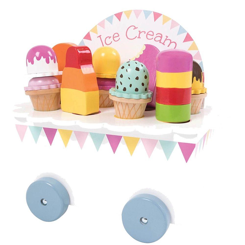 英國 JoJo Maman BeBe - 家家酒/角色扮演玩具-冰淇淋餐車