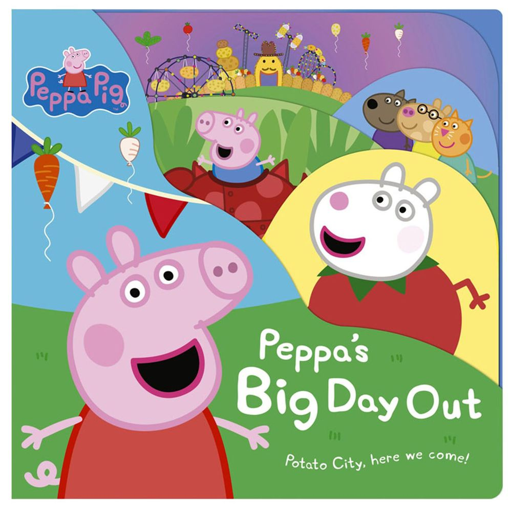Peppa Pig: Peppa's Big Day Out (硬頁書)