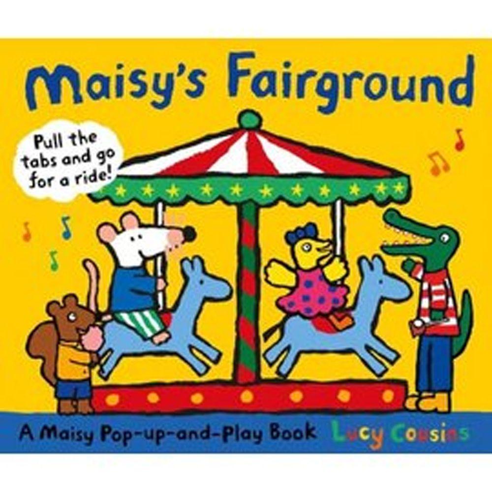 Maisy's Fairground: A Maisy Pop-up-and-Play Book小鼠波波到遊樂園(精裝遊戲書)