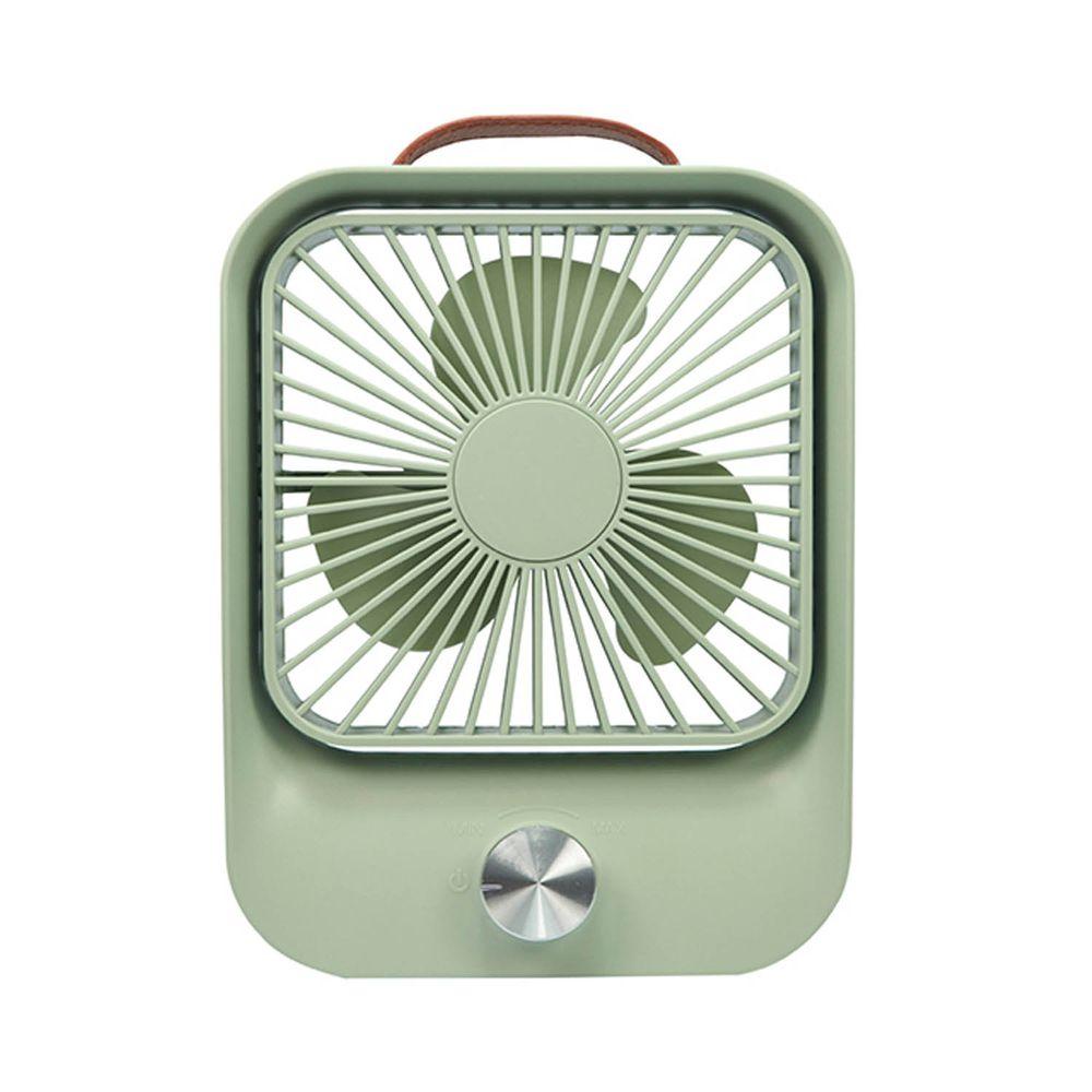 KINYO - 靜音復古桌扇 (UF-5750)-文青綠 (W157xH208xD50mm)