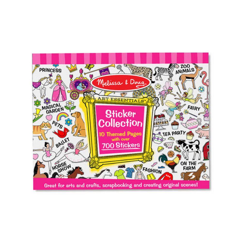 美國瑪莉莎 Melissa & Doug - MD 貼紙簿-粉紅色