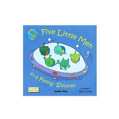 有聲書-FIVE LITTLE MEN /平裝繪本+CD