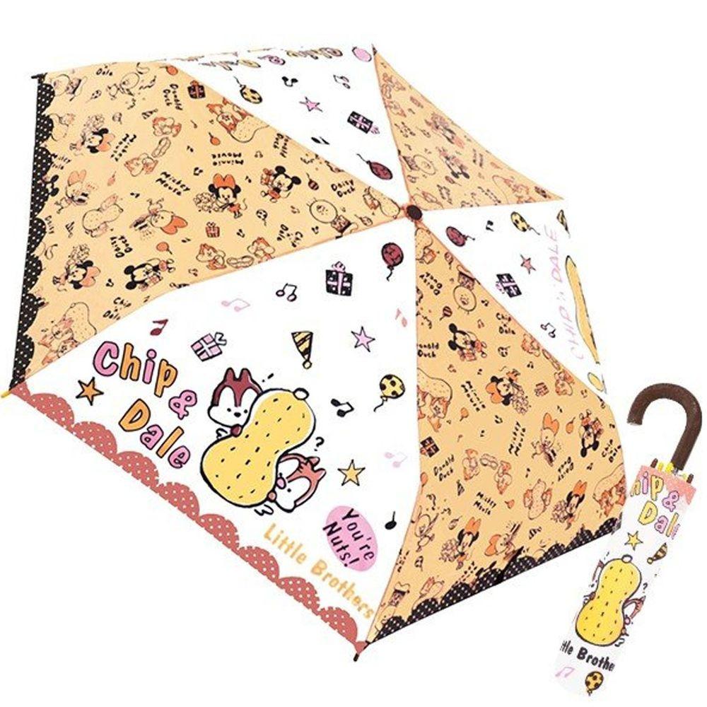 日本代購 - 卡通折疊雨傘-奇奇蒂蒂點點 (53cm(125cm以上))