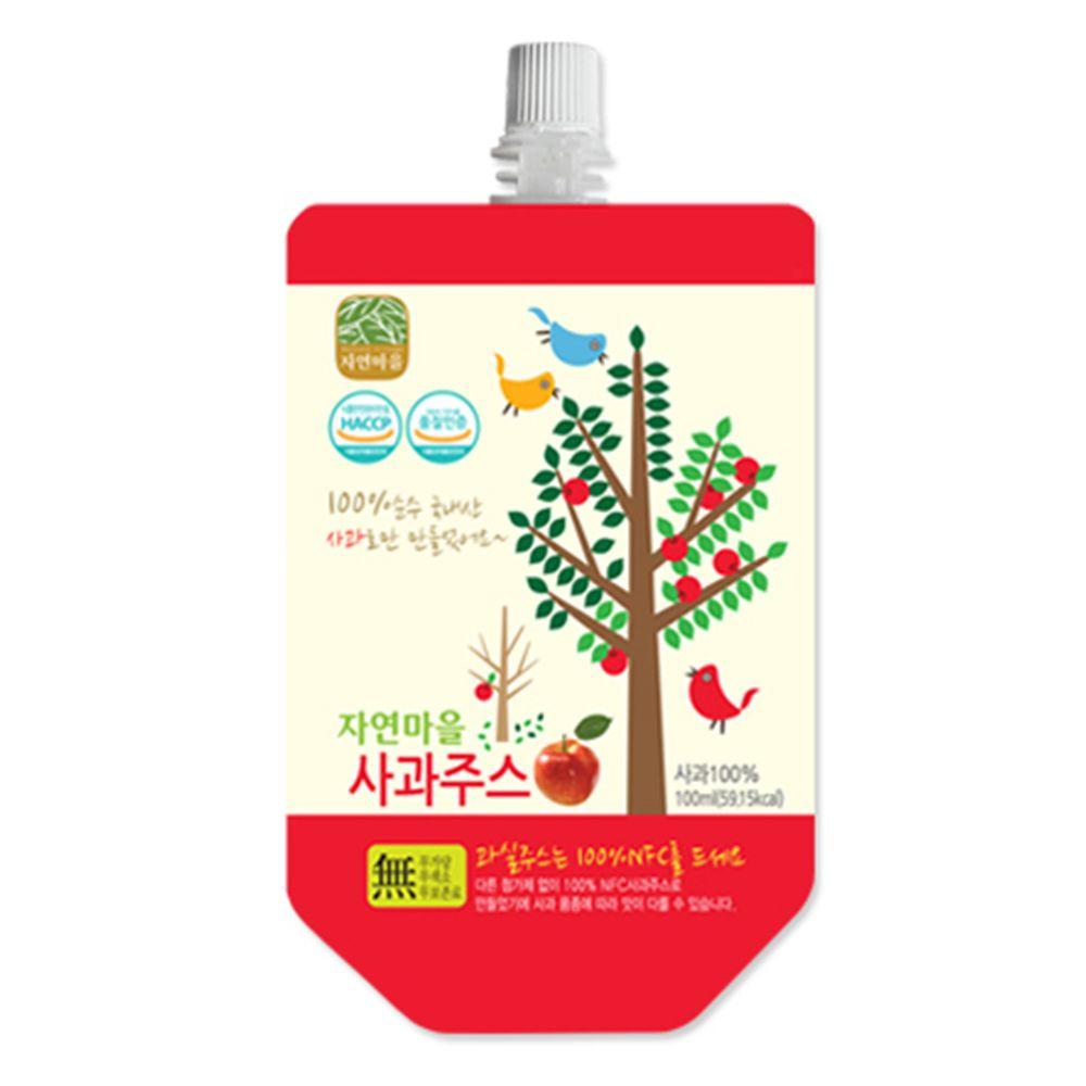 韓國自然村 - 果汁-蘋果-100ml