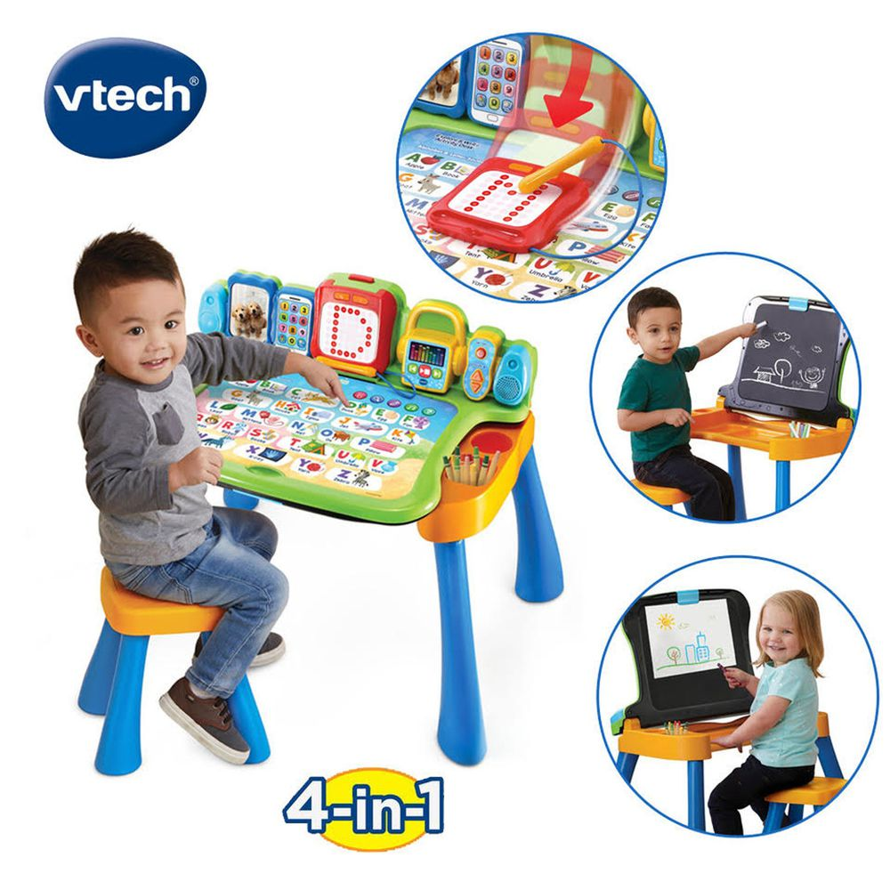 Vtech - 4合1多功能互動學習點讀桌椅組(2019新版)