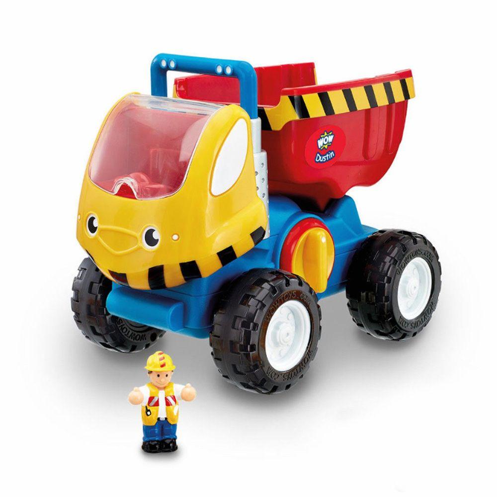 英國驚奇玩具 WOW Toys - 巨輪大卡車 杜德里