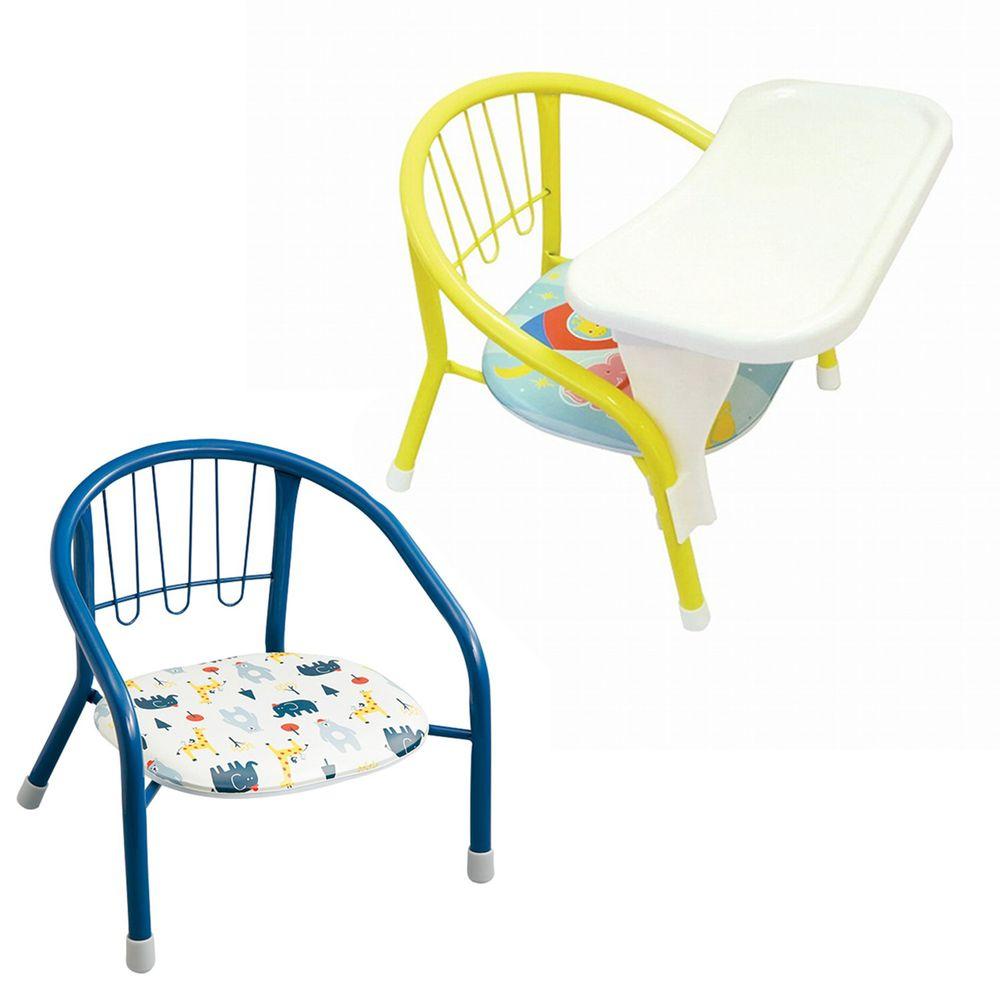 akachan honpo - 豆子椅+豆子椅專用餐桌-動物